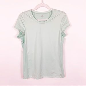 Alo Yoga Coolfit Mint Fitted Tee
